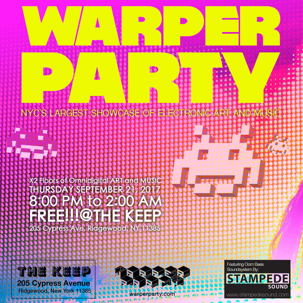Warper Party @ The Keep