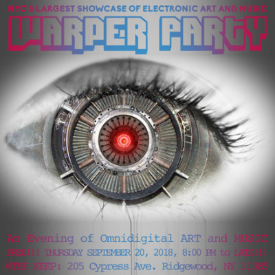 WARPER PARTY, September 20, 2018 @ The KEEP