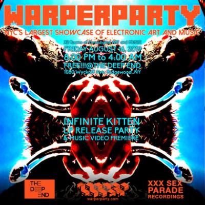 INFINITE KITTEN LP RELEASE @ WARPER PARTY