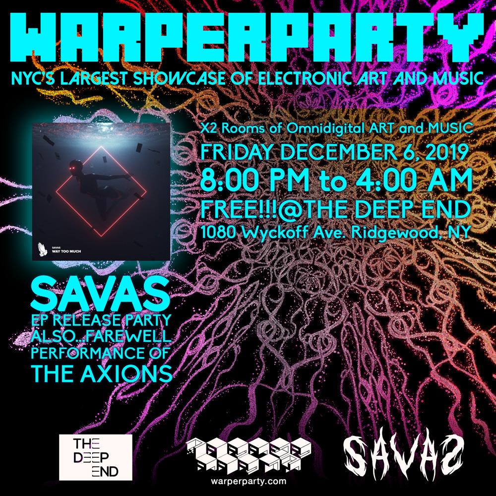WARPER PARTY 12/06/2019